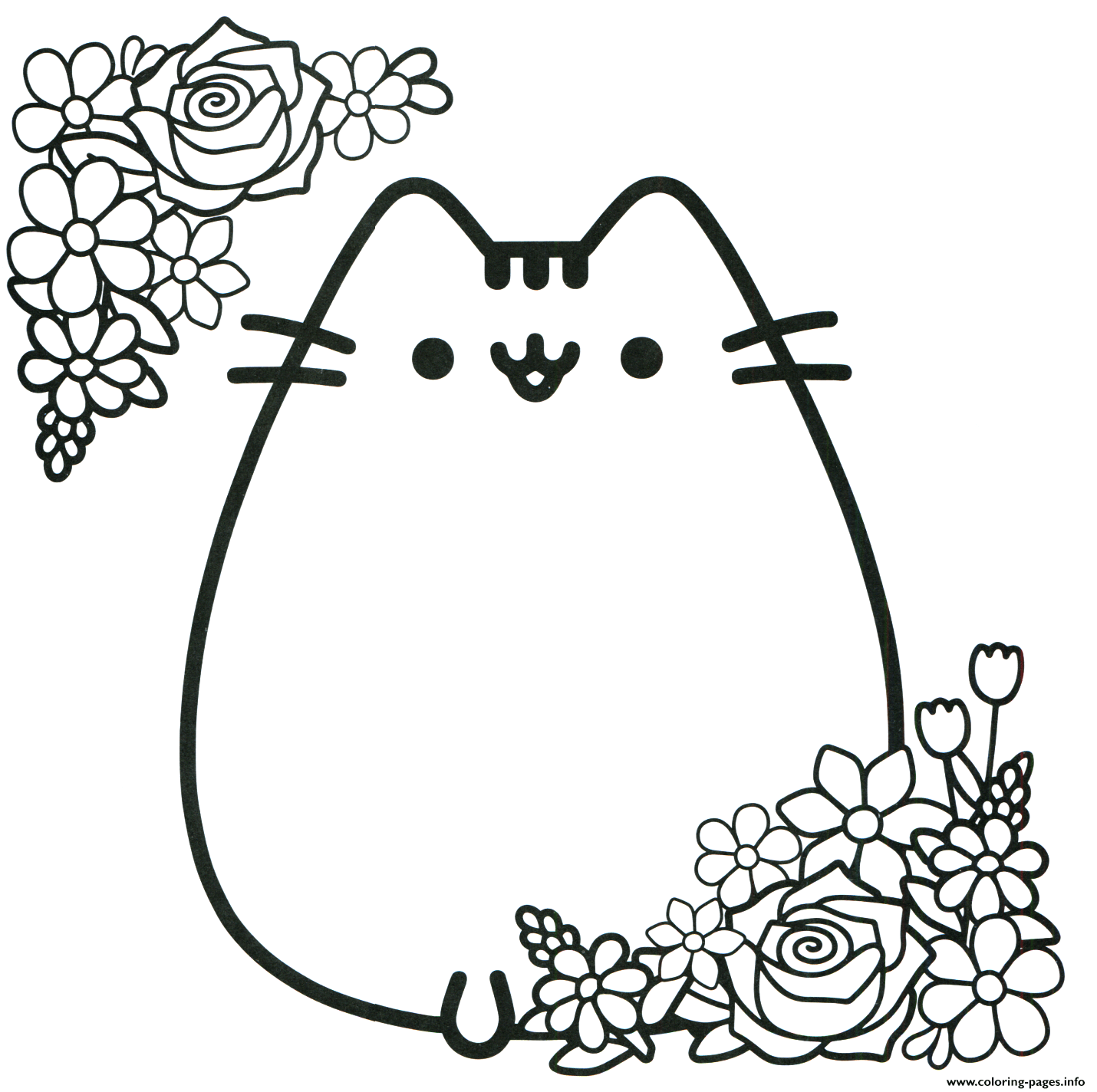 coloring ~ Remarkable Pusheen Coloring Pages Pdf Photo ...