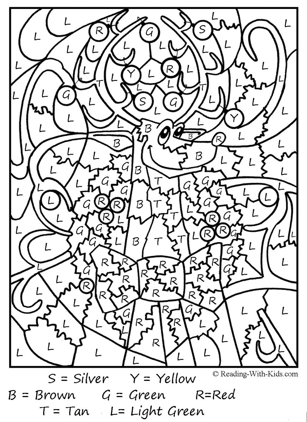 - Adult Color By Number Coloring Pages - Coloring Home