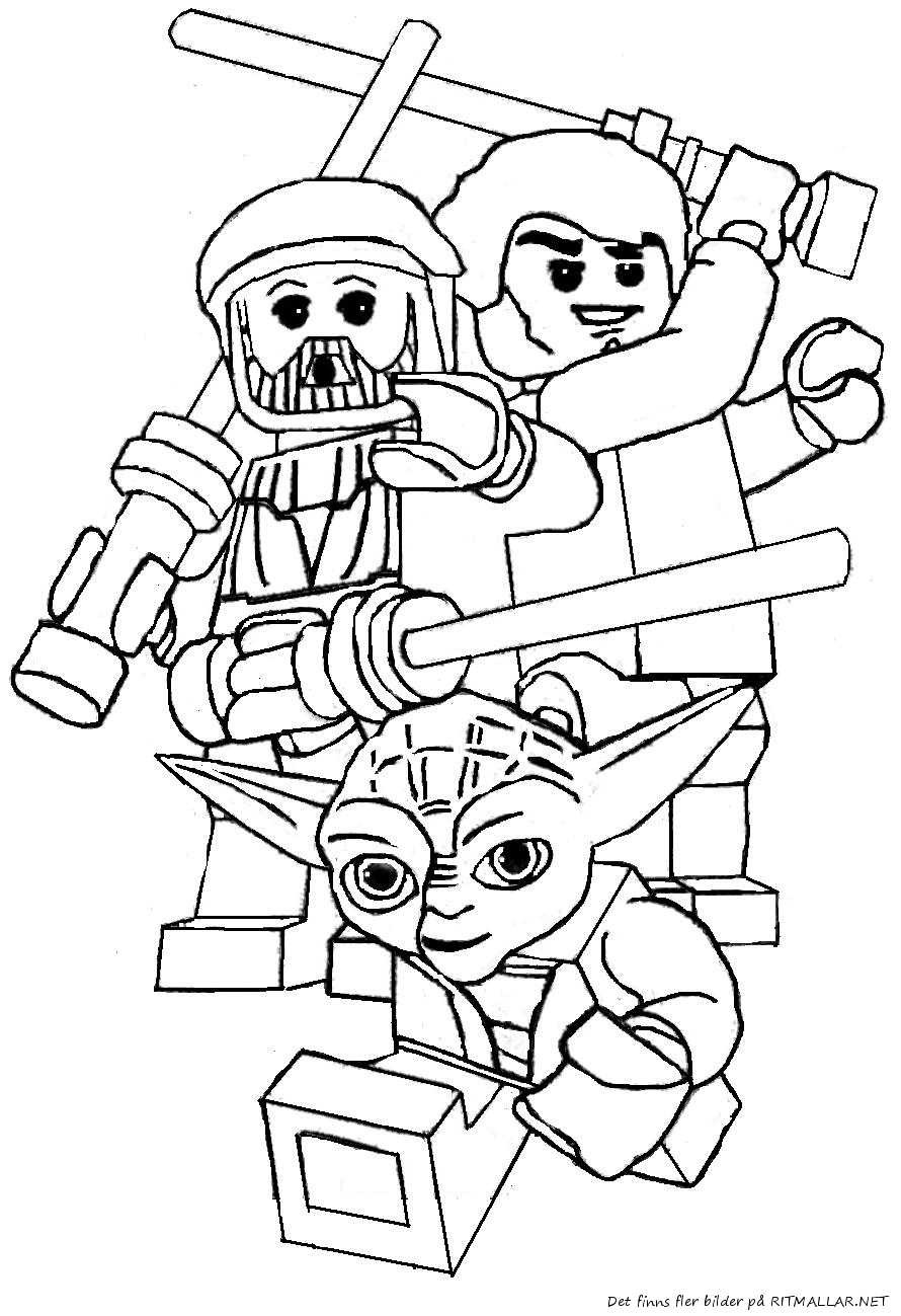 LEGO Star Wars Coloring Pages - GetColoringPages.com - Coloring Home