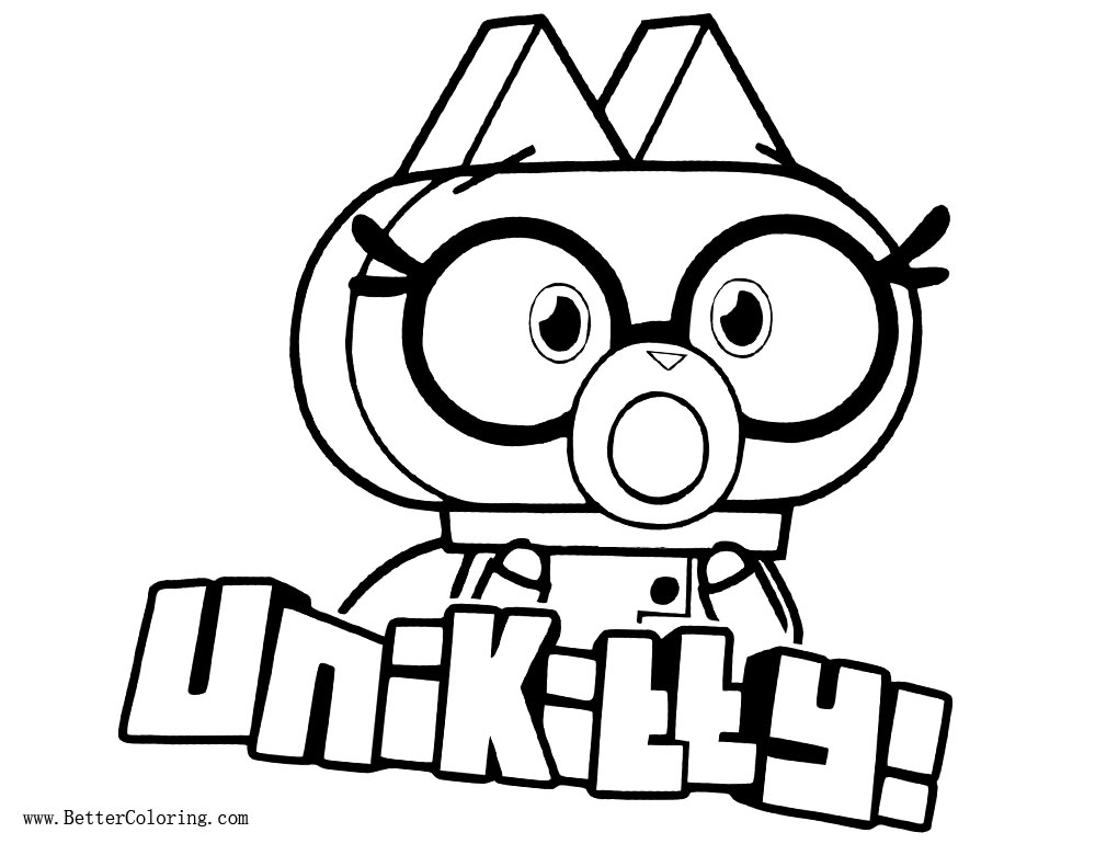 Angry Unikitty Coloring Pages Francois Vallejo Printable Coloring Home
