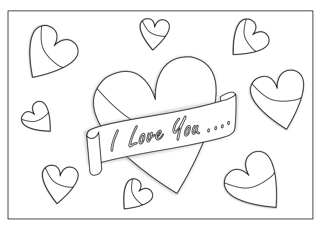 I Love You Coloring Pages Pdf : Pics of i love you grandma coloring pages