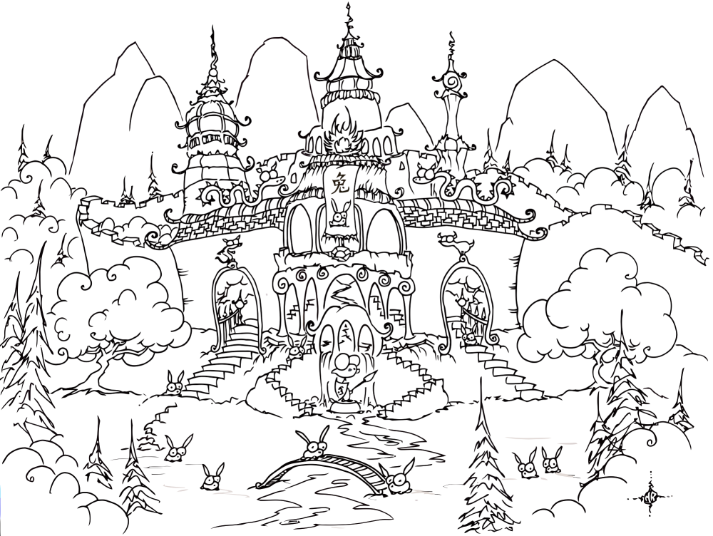 Printable Ancient China Coloring Pages Coloring Home Ancient China Coloring Pages