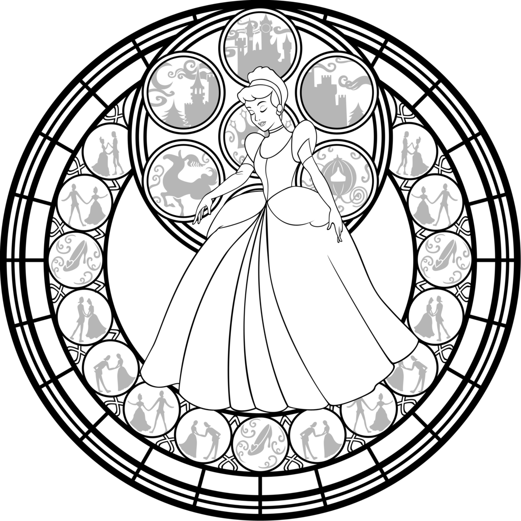 Printable Adult Coloring Pages Stained Glass Coloring Home