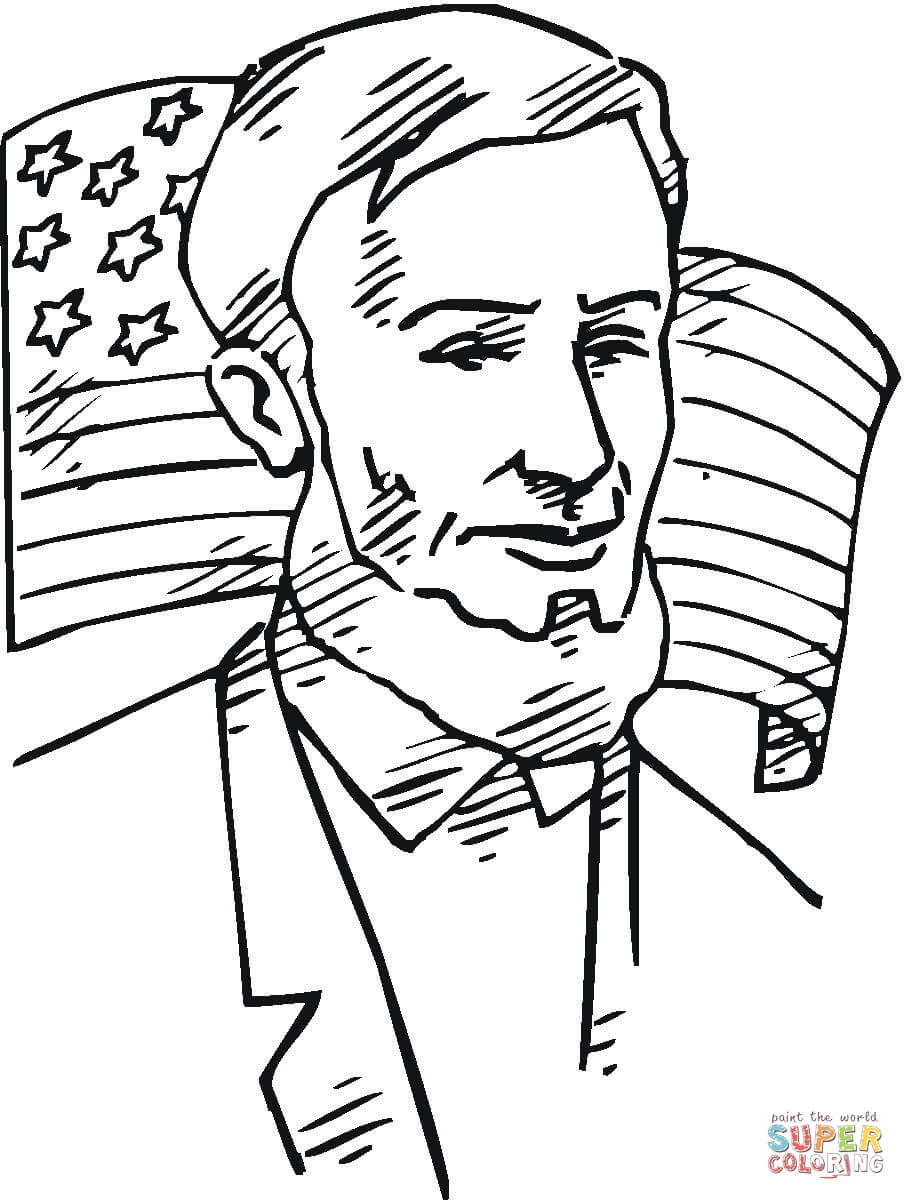 abe lincoln coloring pages printable - photo#8