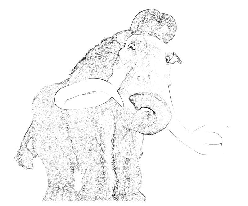 Ice Age Continental Drift Coloring Pages - Coloring Home