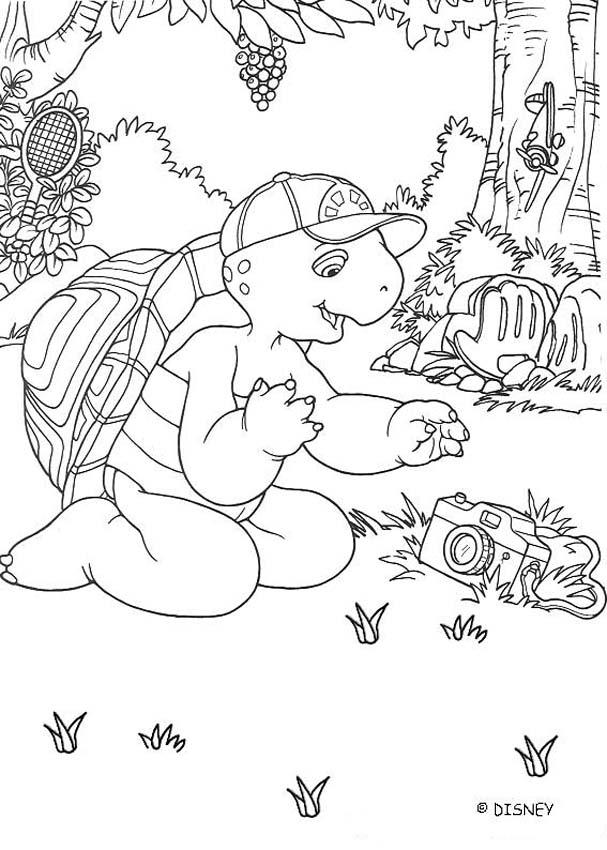 FRANKLIN Coloring Pages Football Game Coloring Home