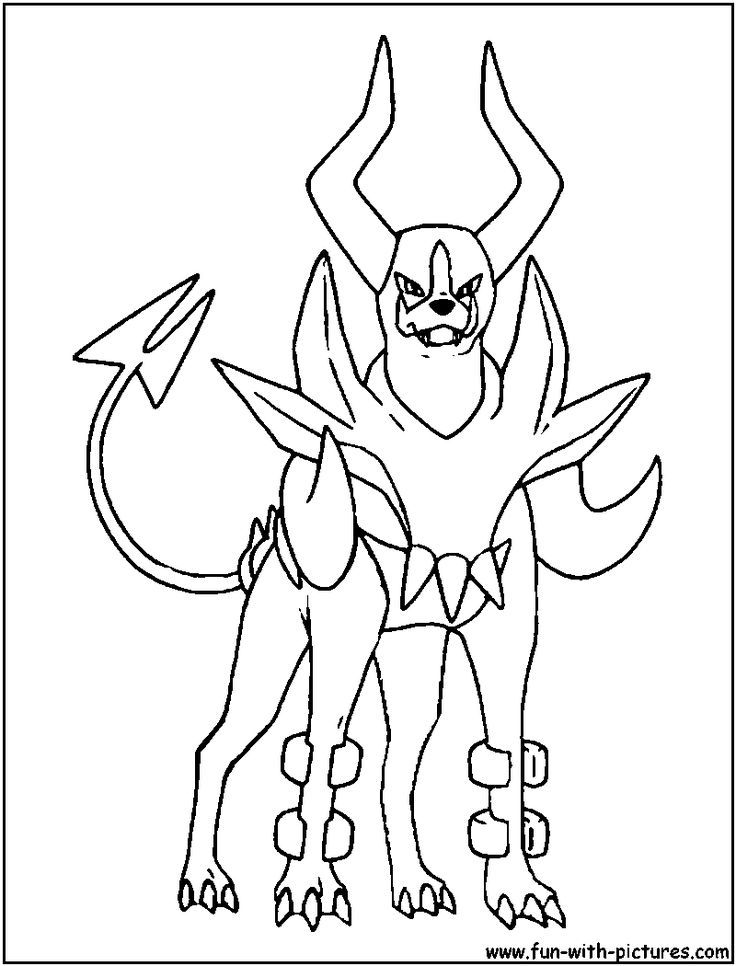 Mega Pokemon Coloring Pages Coloring
