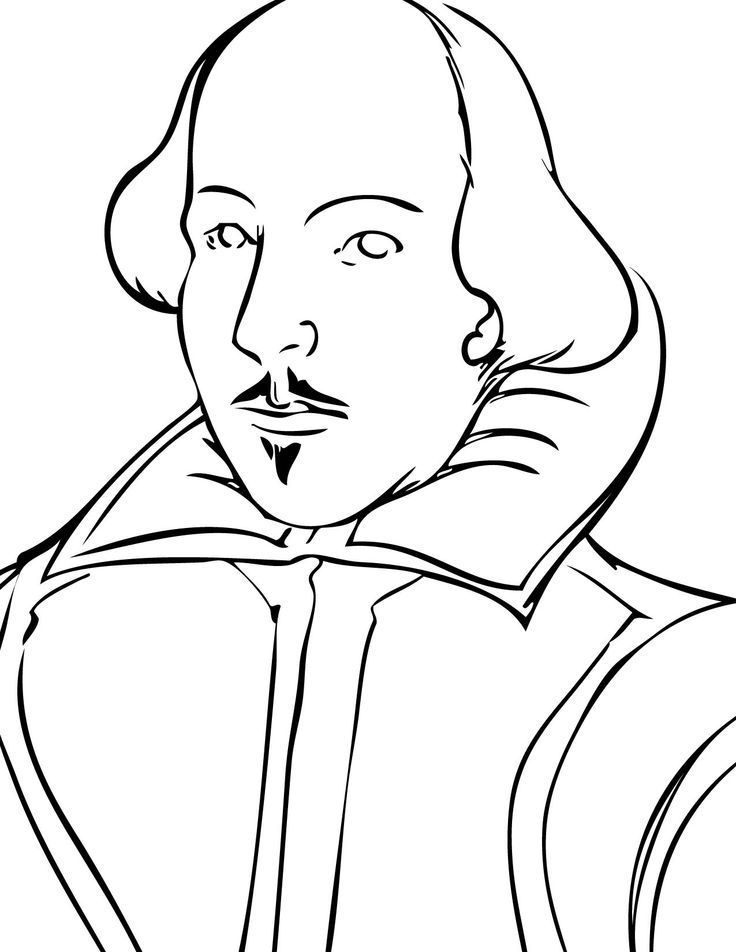 shakespeare coloring pages - photo#3