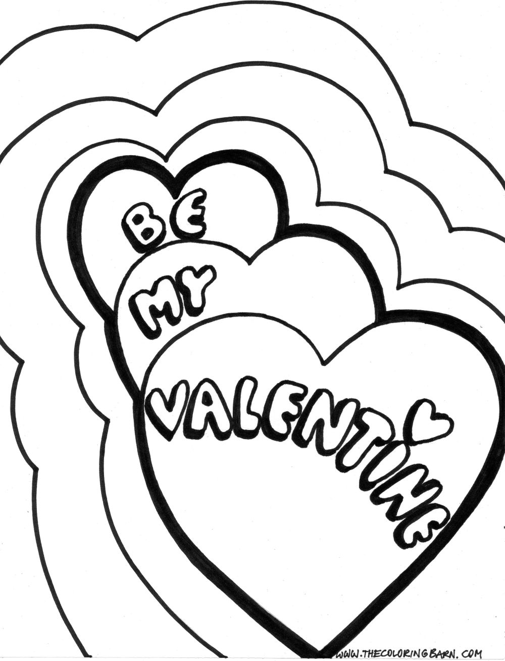 Free valentines day coloring pages to print - Free Printable Valentine Coloring Disney Valentines Day Coloring Pages