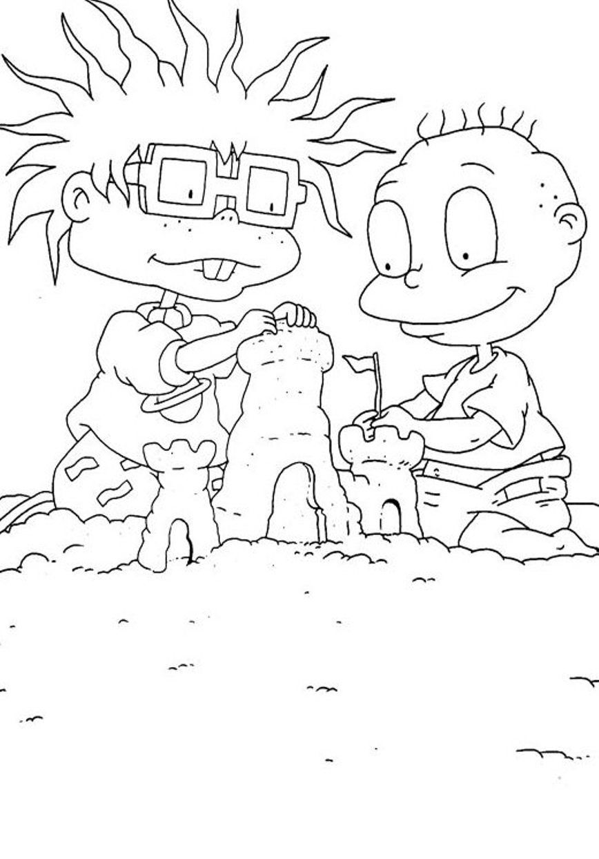 Rugrats Kimi Coloring Pages Rugrats Tommy Coloring Pages. Kids ...