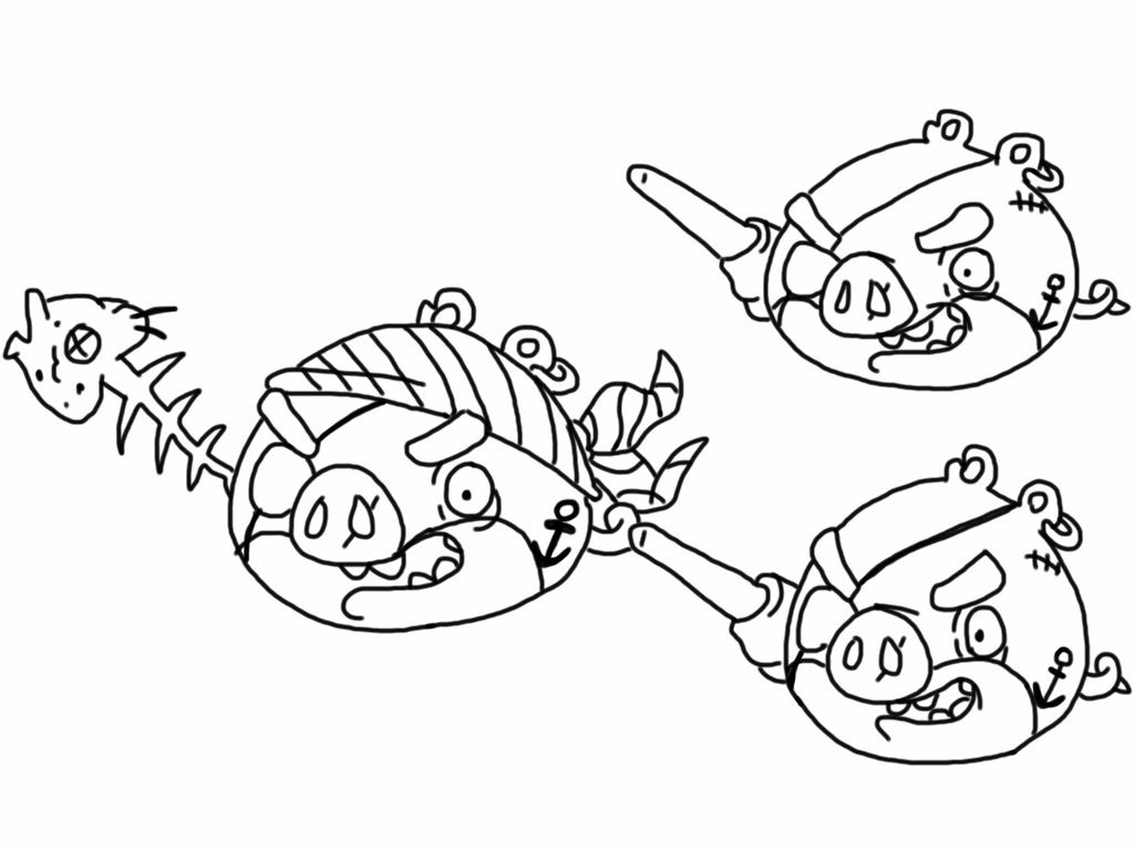 Angry Birds Stella Coloring Pages And