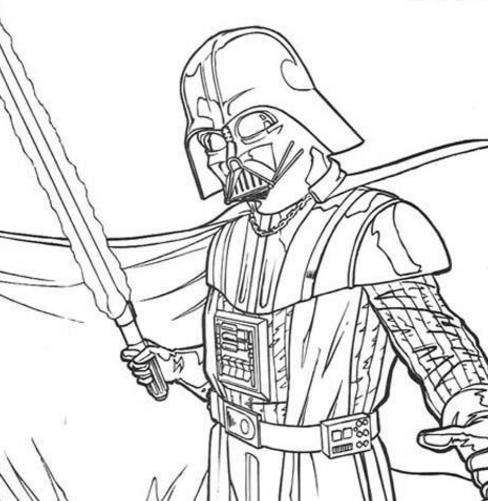 star wars coloring pages coloringrocks - Mona Lisa Coloring Page Printable