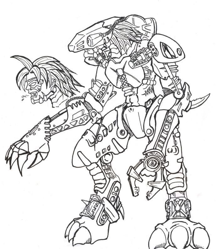 lego bionicle coloring pages to print high quality coloring pages - Hero Factory Coloring Pages Furno