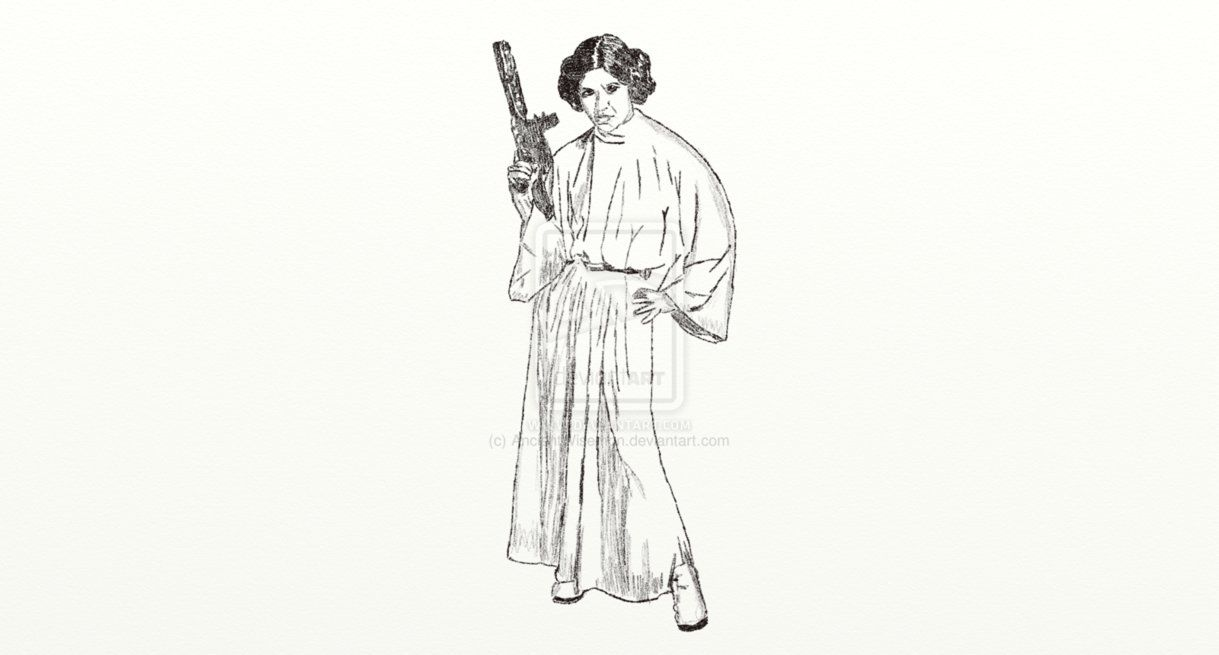 Princess leia jabba colouring pages for Princess leia coloring page
