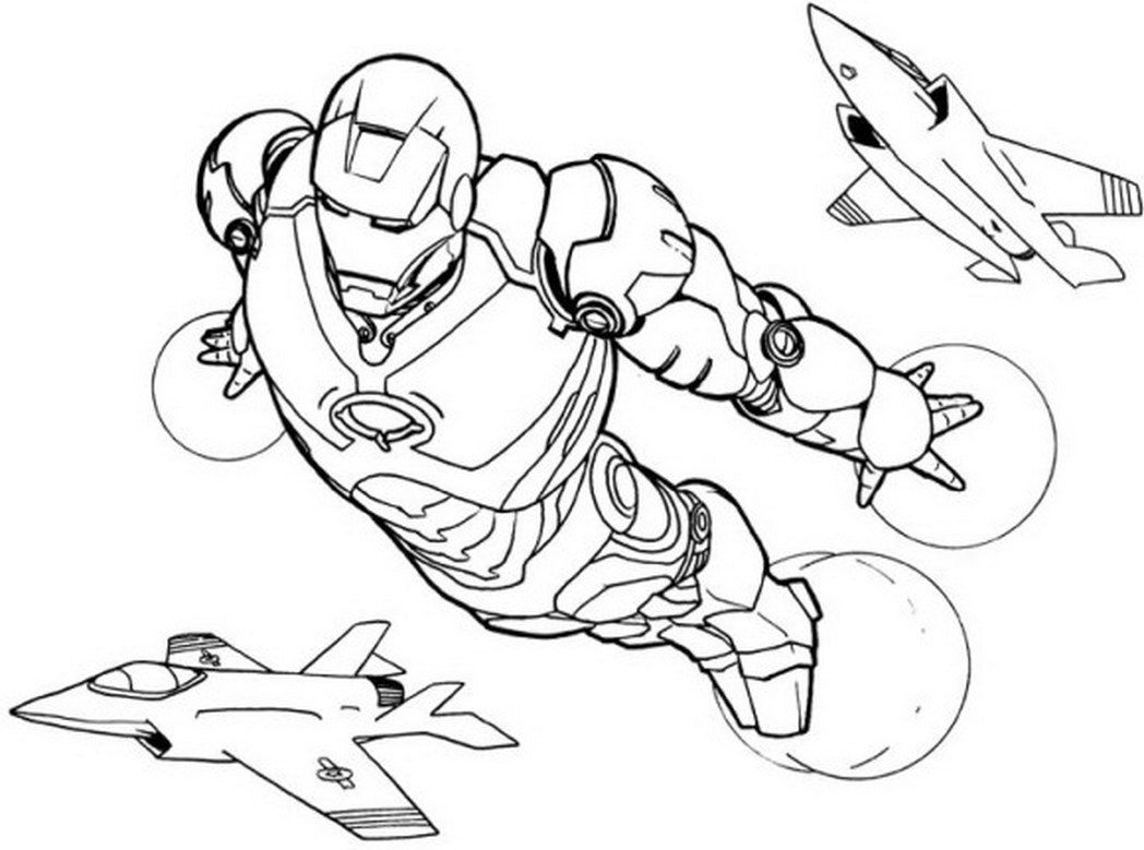 Iron Man Lego Coloring Pages