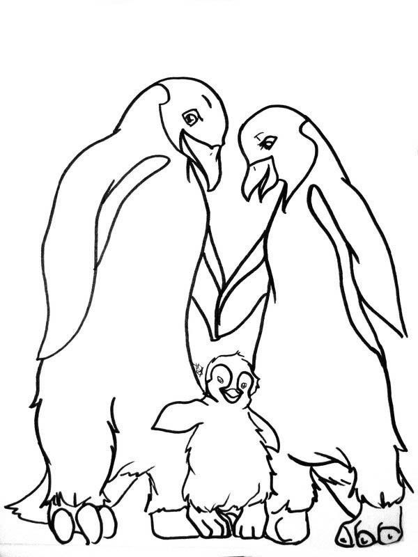 printable happy feet coloring pages - photo#11
