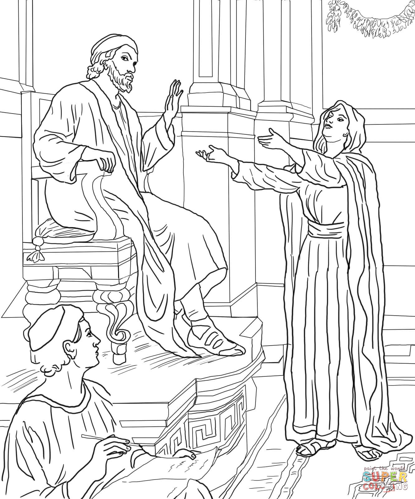Parable Coloring Pages - Coloring Home