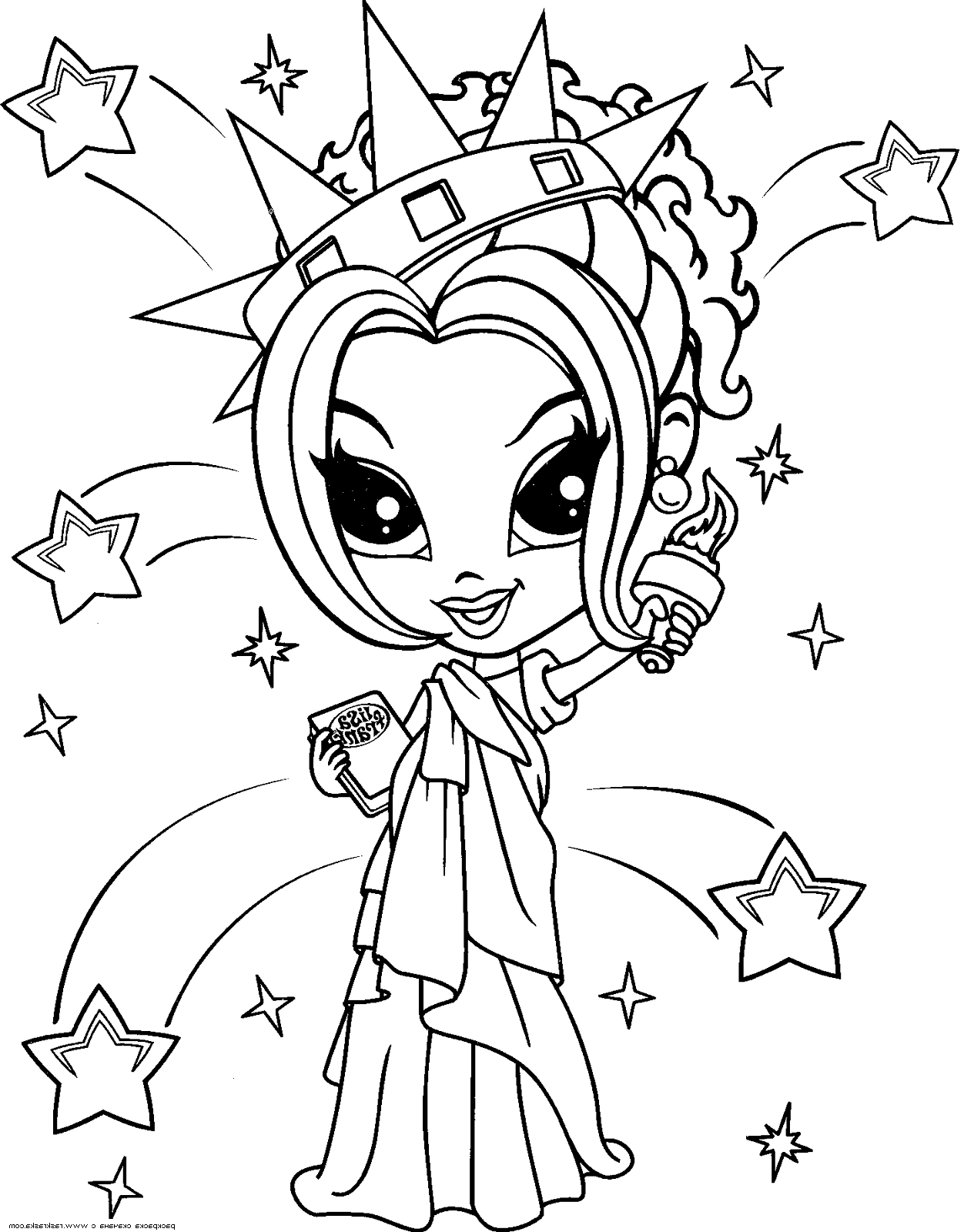 lisa frank coloring pages - photo#27