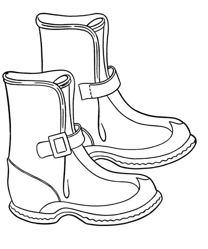 baby booties coloring pages - photo #49