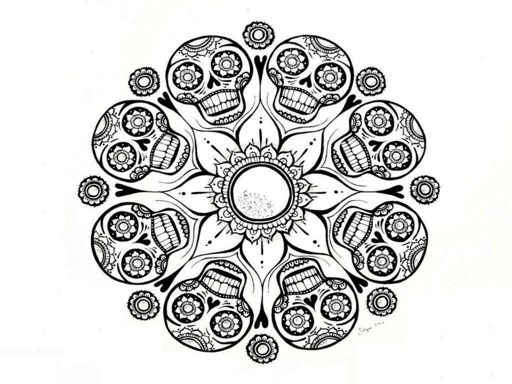 Free Mandala Coloring Pages For
