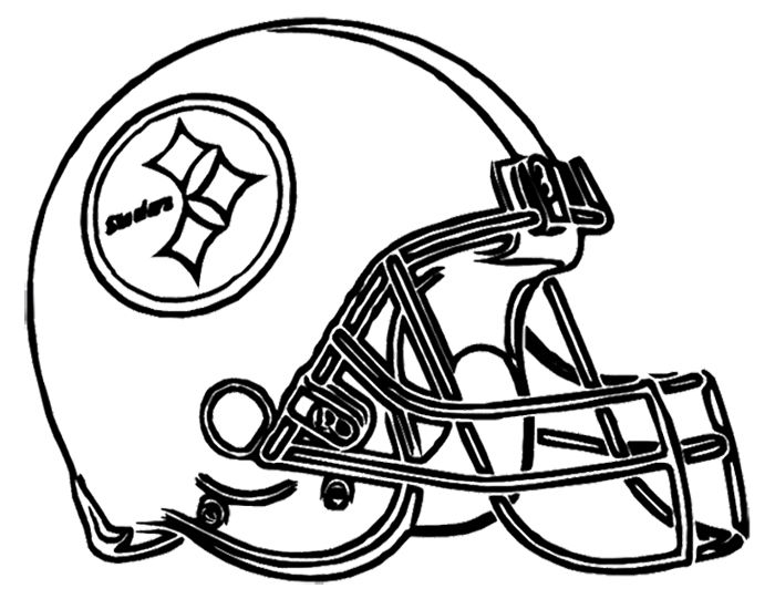 steelers free coloring pages - photo#3