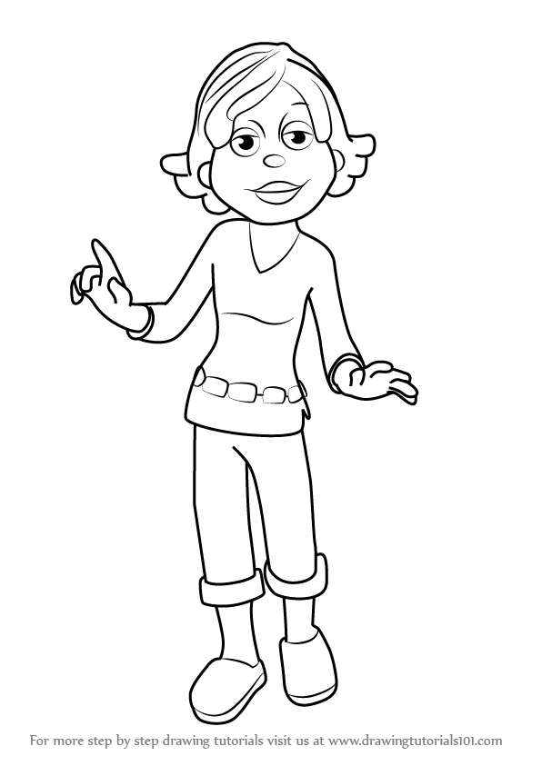 Susie - Sid The Science Kid Coloring Page - Coloring Home