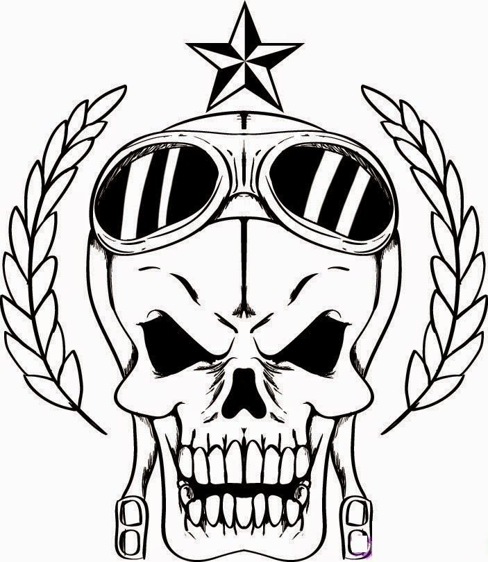 - Skull Designs Coloring Pages - Coloring Home