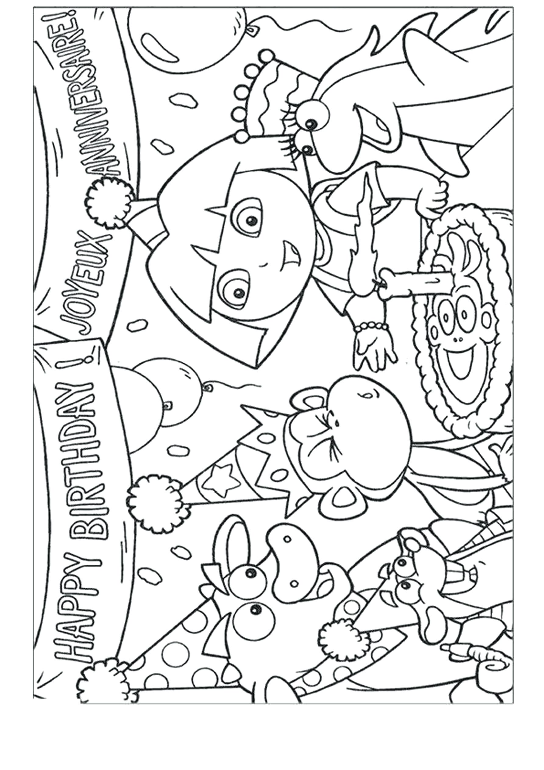 - Dora And Friends Coloring Pages - Coloring Home
