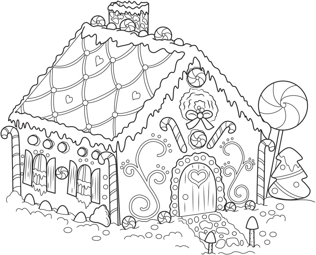 - Victorian Houses Coloring Pages - Coloring Home