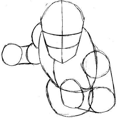 how to draw ssj2 gohan step by step