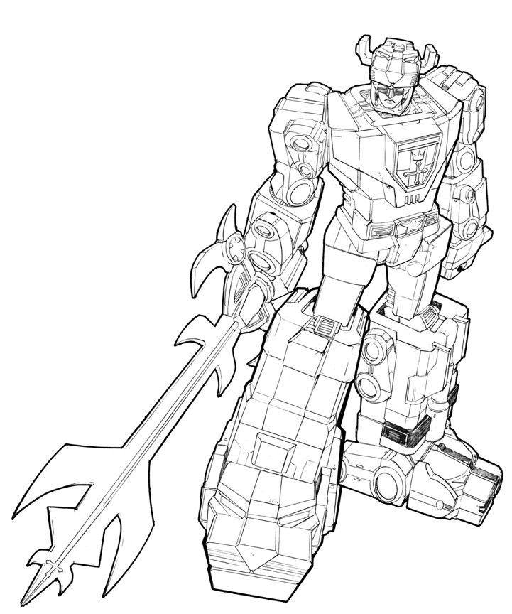 Voltron Coloring Pages Page 1 - Coloring Home