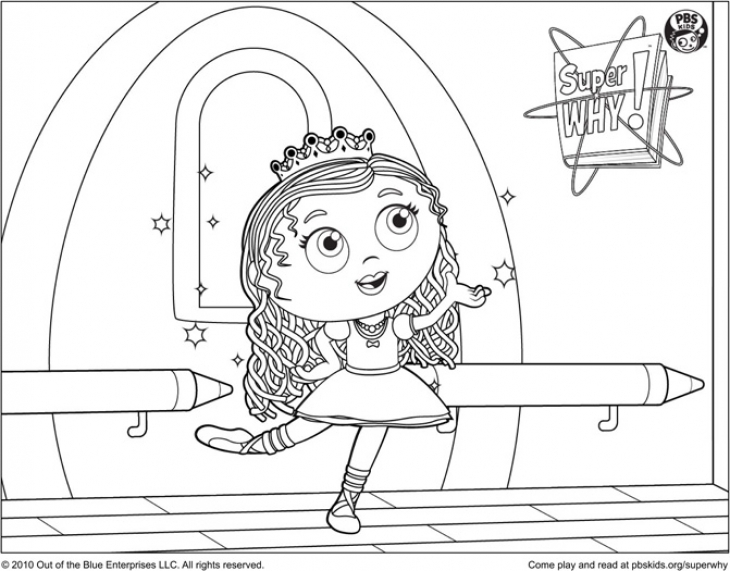 super why coloring page coloring