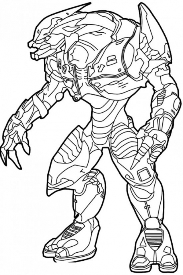 Halo 5 Coloring Pages - Coloring Home