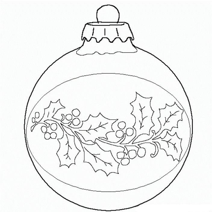 ornament printable coloring pages - photo#50
