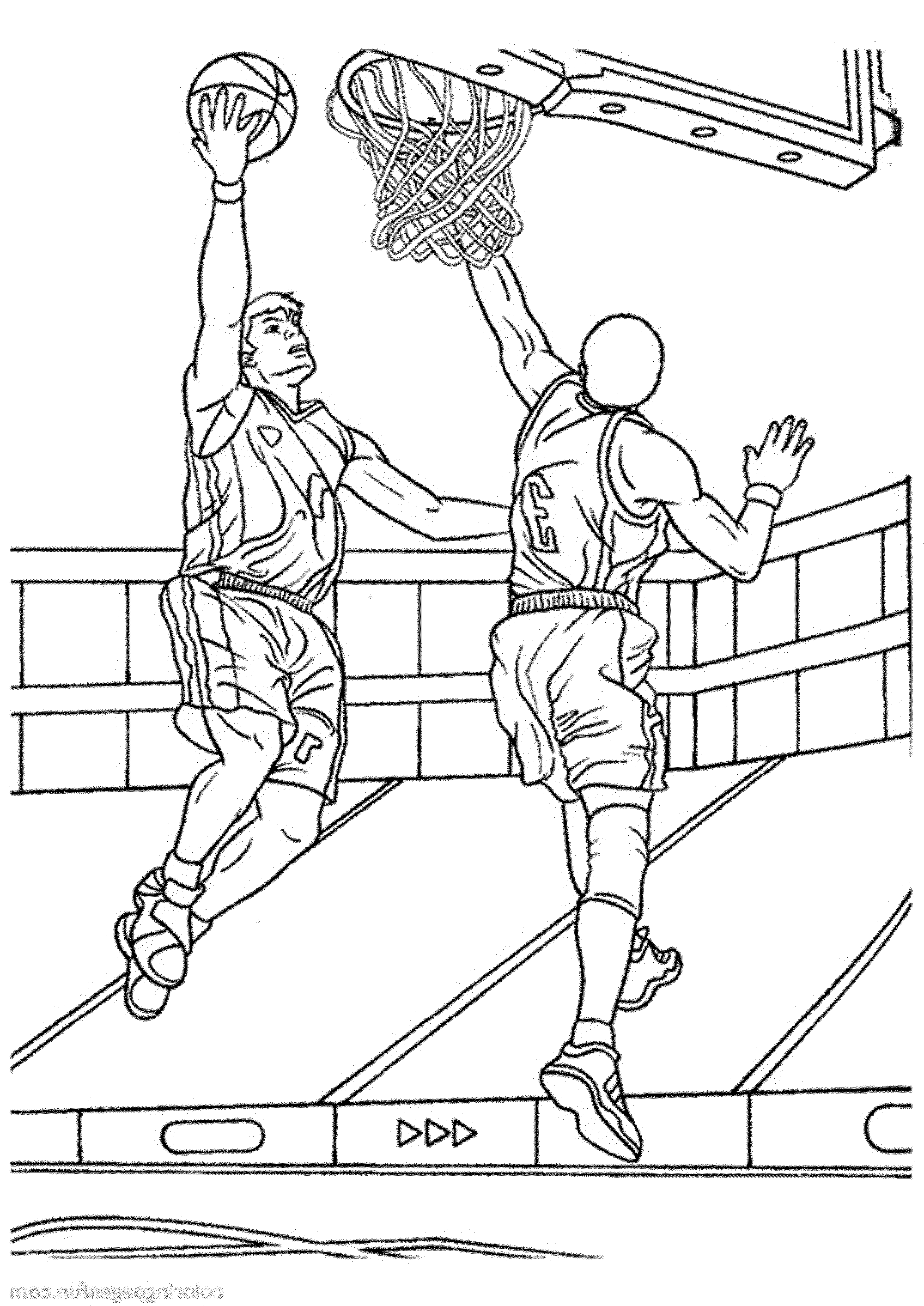 stunning college basketball coloring pages ideas - printable ... - College Basketball Coloring Pages