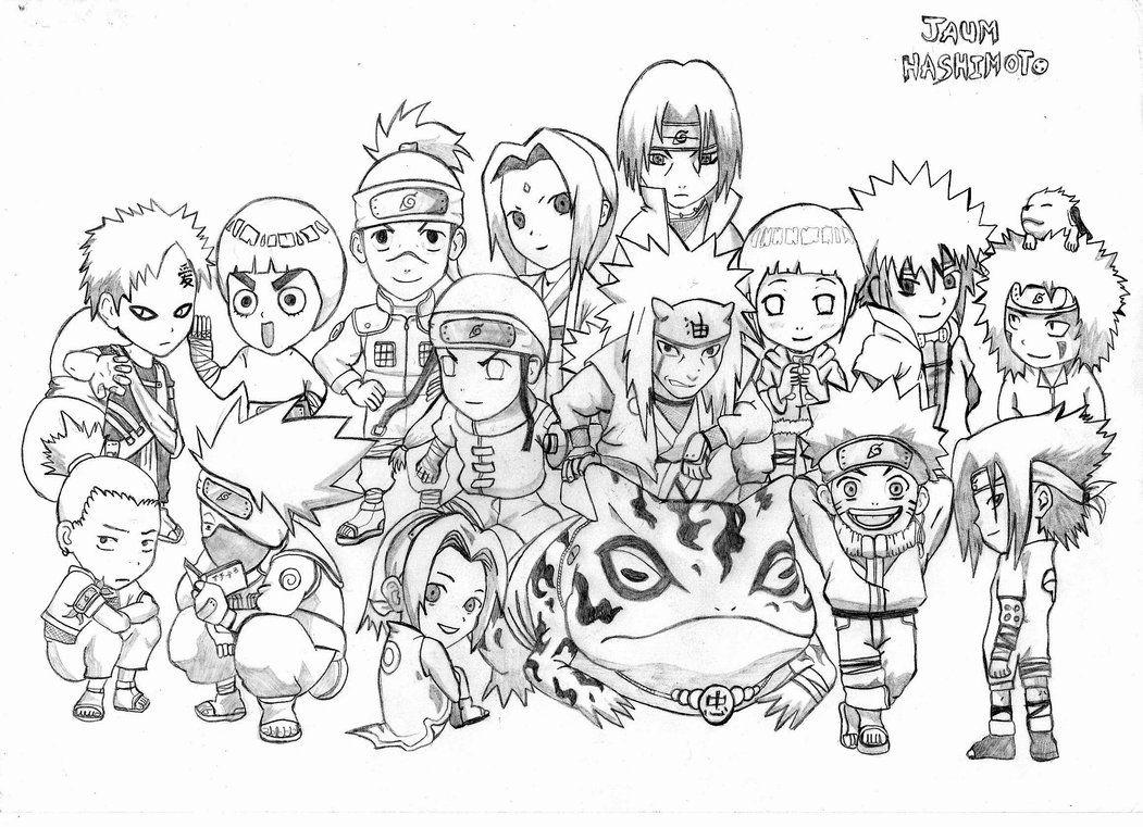 chibi naruto coloring pages coloring pages for all ages - Naruto Coloring Pages