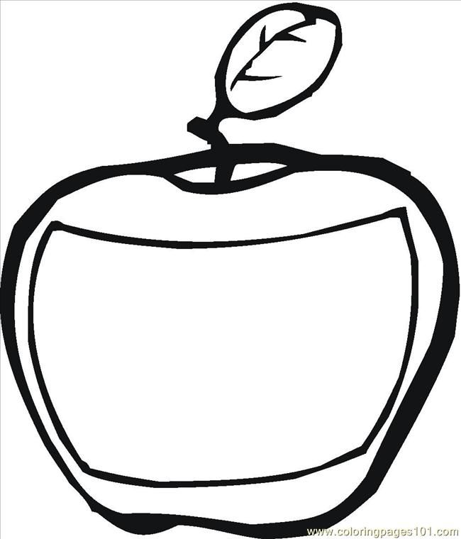 Apples And Bananas Coloring Pages : Fruit coloring pages apple banana on our website