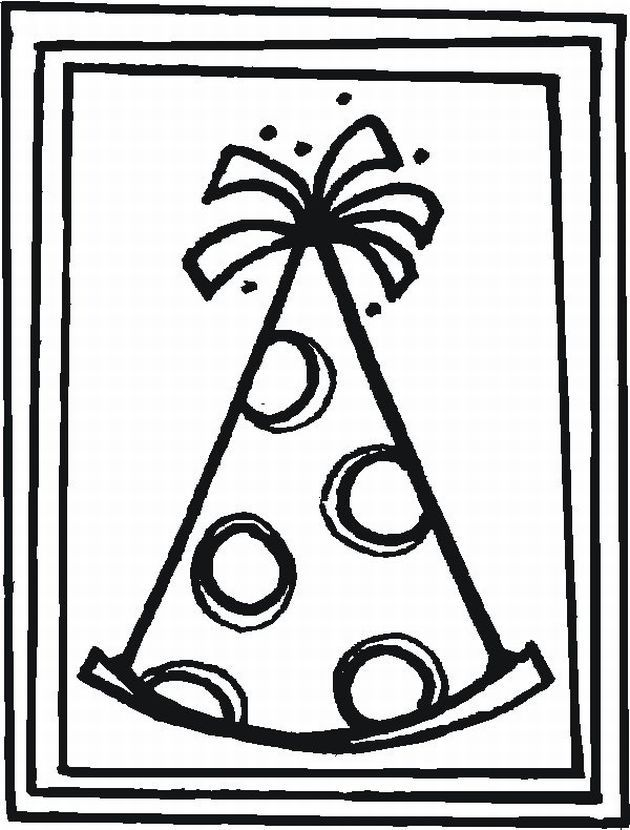 kid coloring pages for birthday - photo#34