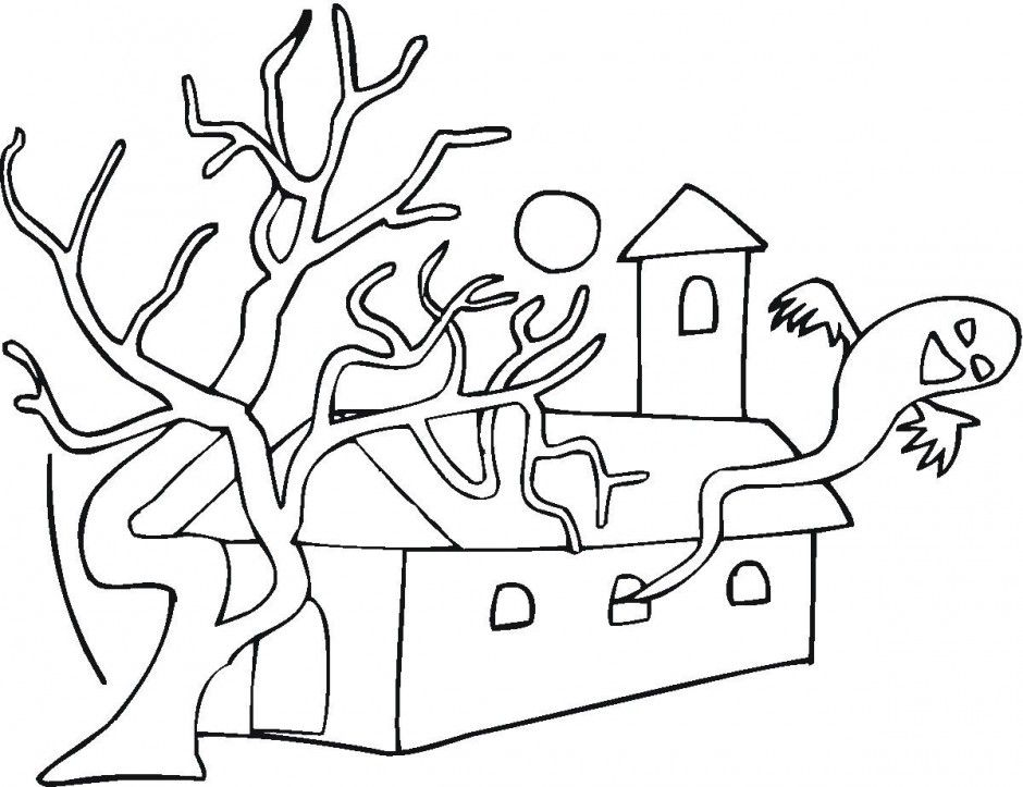 creepy spiders coloring pages - photo#29