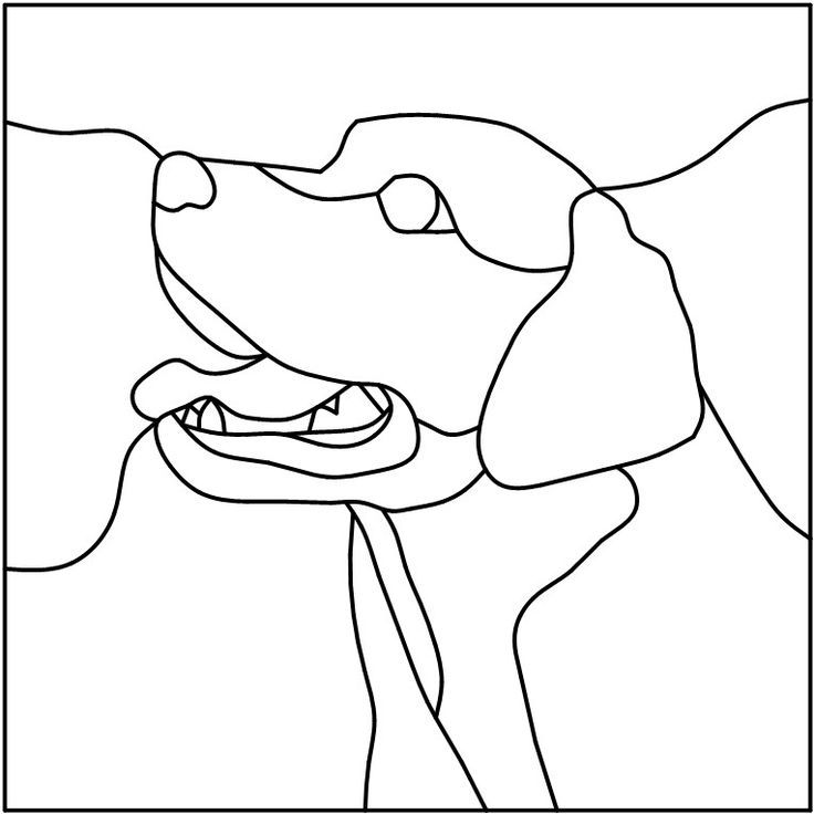 labrador retrievers coloring pages - photo#33