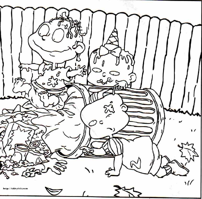 Rugrats Coloring Book - Coloring Home