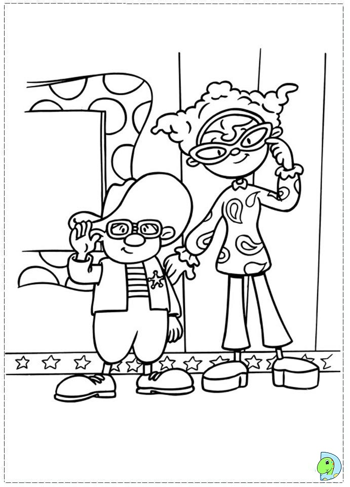 jojos circus coloring pages - photo#25