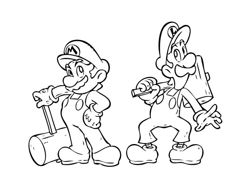 mario brothers coloring pages yoshida - photo#2