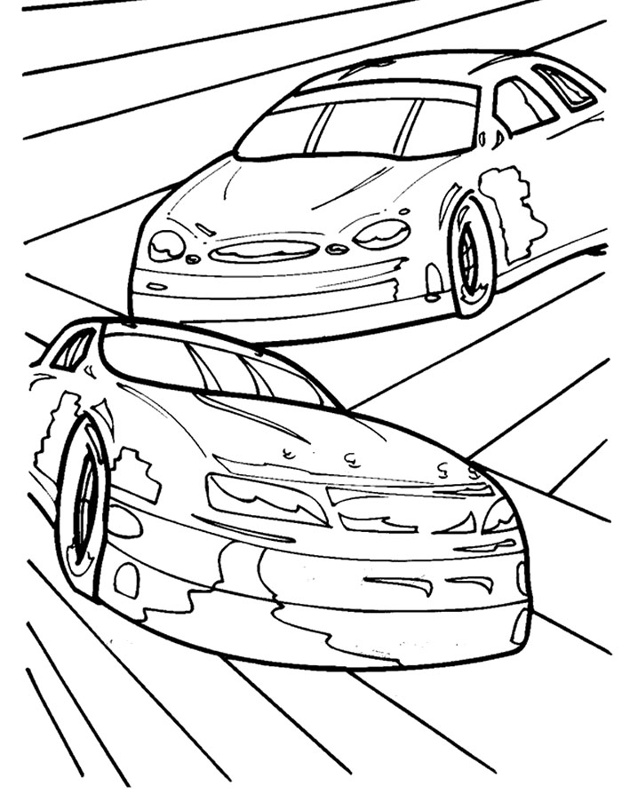 nascar 20 coloring pages - photo#17