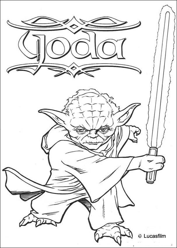 jedi coloring pages - photo#29