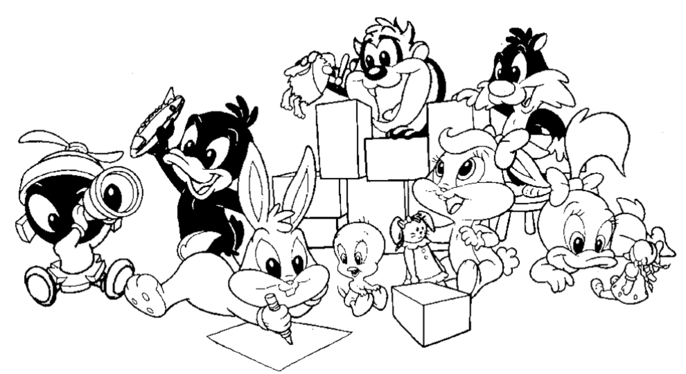 Baby Looney Tunes Coloring Pages – images free download