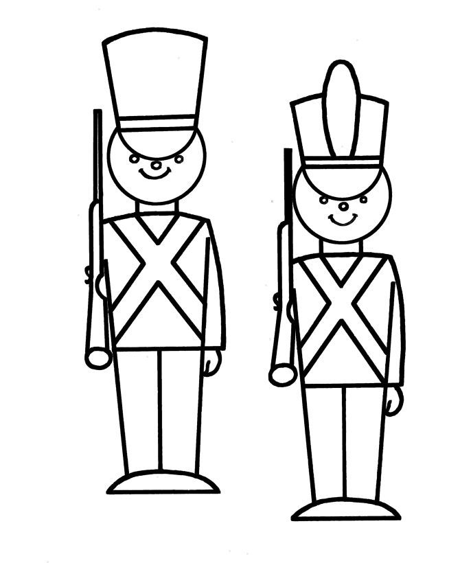 simple nutcracker coloring pages - photo#3