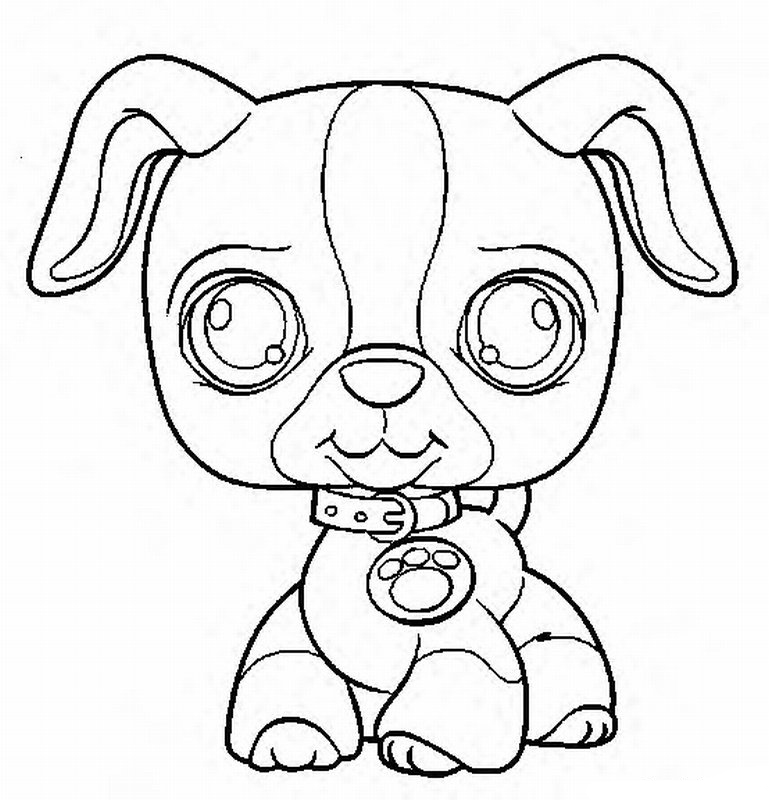 Little Pet Shop Coloring Pages 22 | Free Printable Coloring Pages
