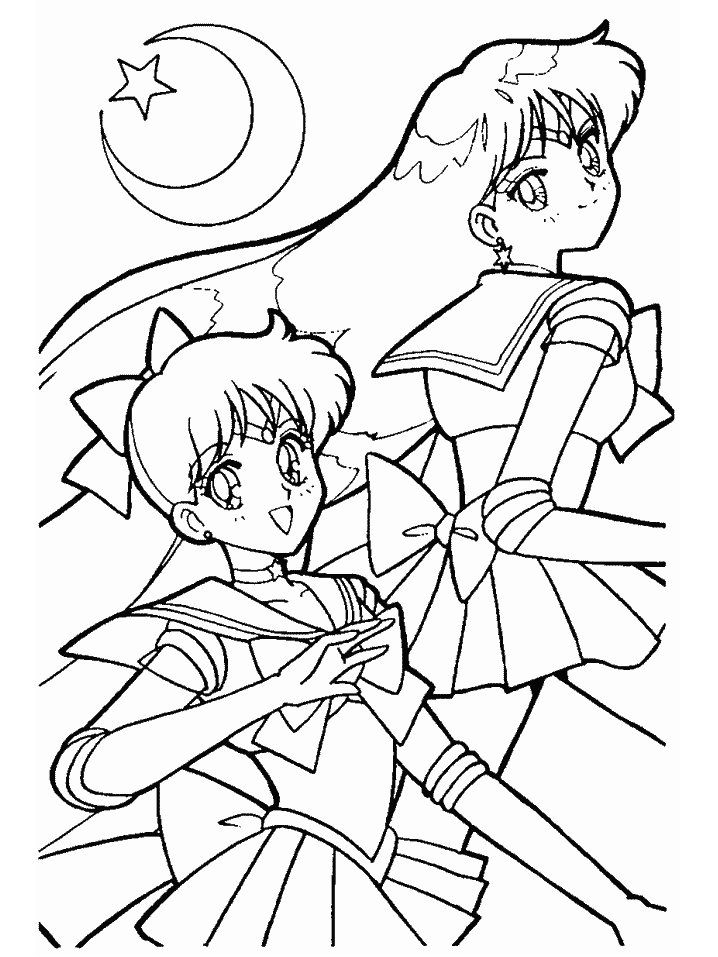 cartoon girl coloring pages   az coloring pages