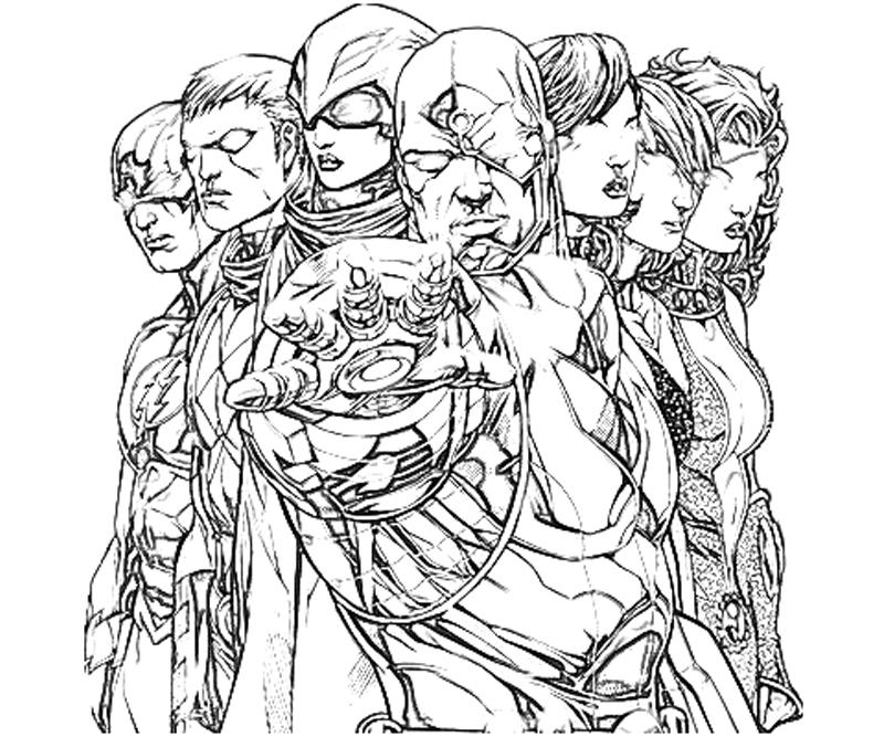 Dc Coloring Pages Coloring Home Dc Coloring Pictures